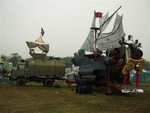 Joe Rush's Pirate Ship at Glastonbury 2004